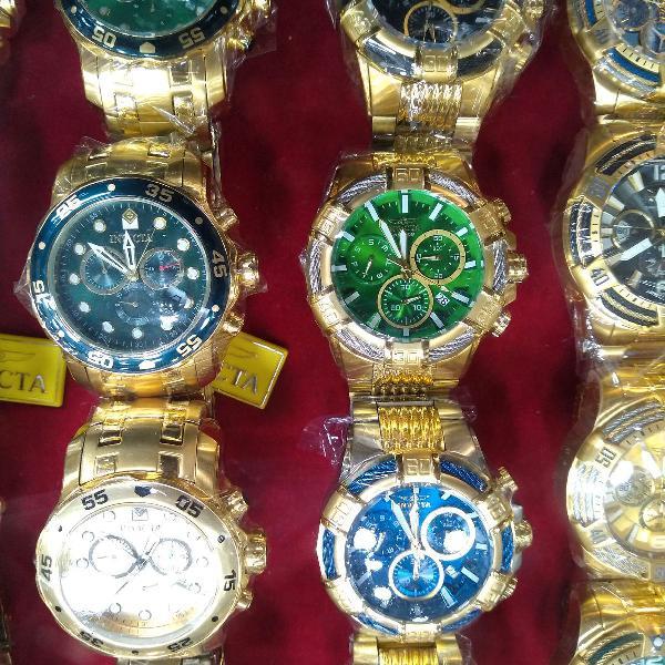 Relógio importado masculino inviqta preços variados prime.