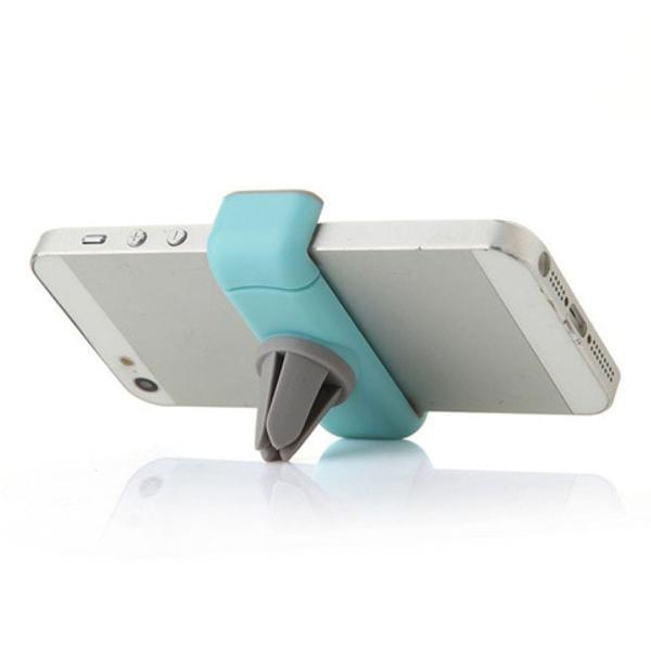 Suporte universal automotivo para smartphone na saída de ar