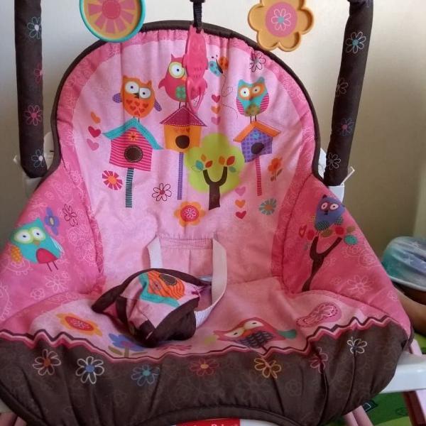 Cadeira fisher proce sonho rosa