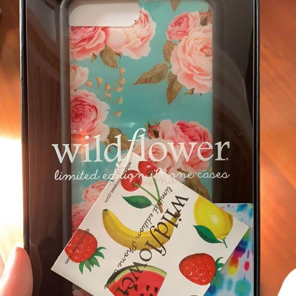 Capinha iphone 6/7/8 plus wildflower floral