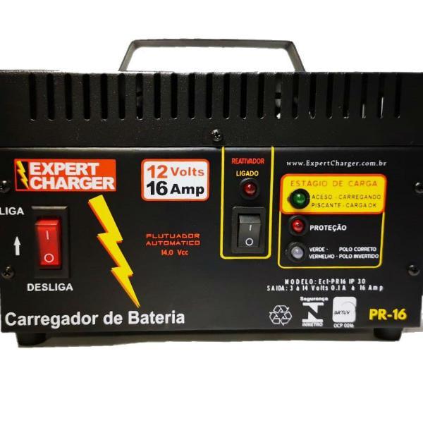 Carregador bateria 12 volts automotivo com reativador