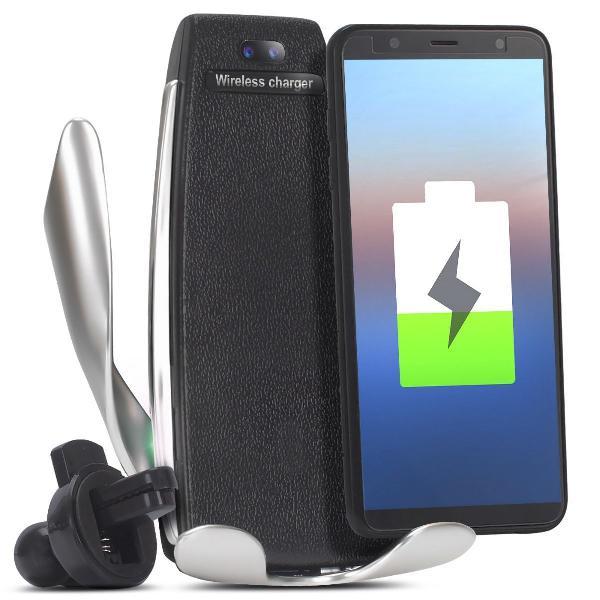 Carregador veicular sem fio iphone samsung indução