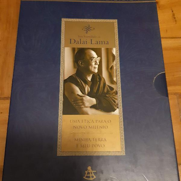 Dalai lama - box com 2 livros (uma ética para o novo