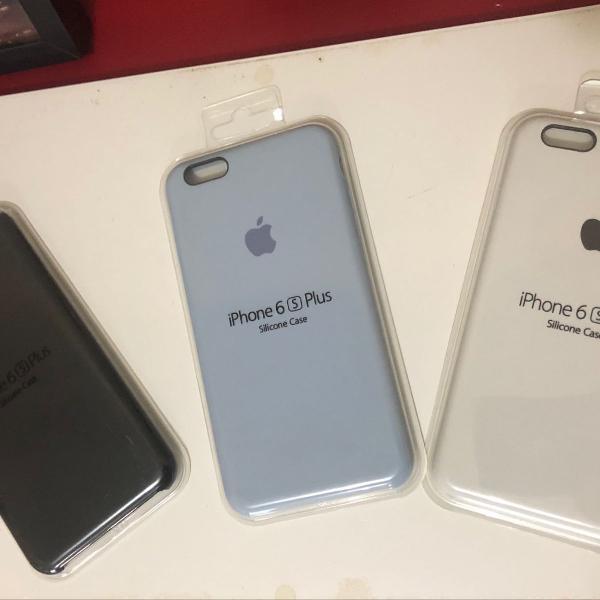 Kit 3 x pulseira silicone original para iphone 6s plus