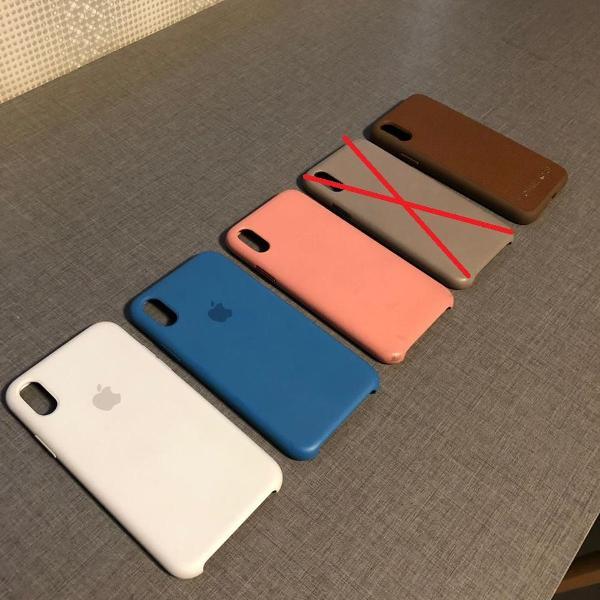 Kit 4 cases - iphone x - originais