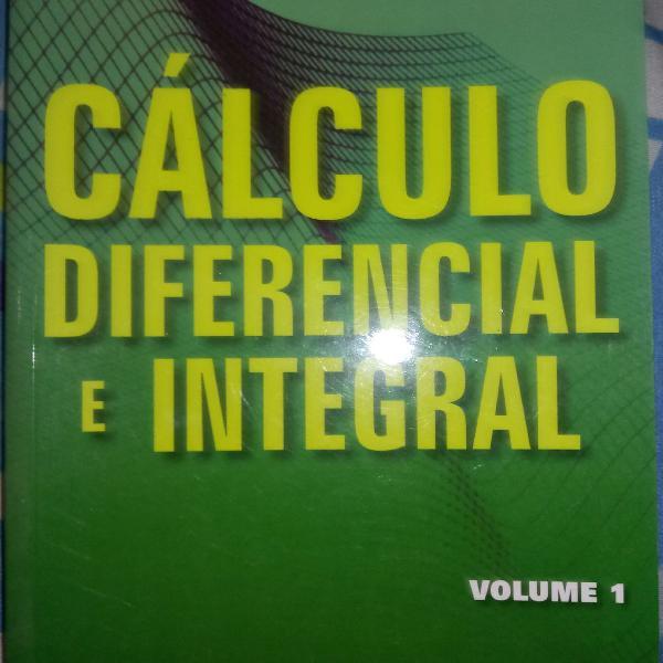 Livro cálculo diferencial e integral vol. 1 de paulo boulos