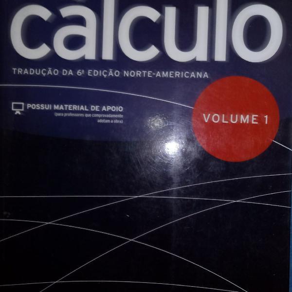 Livro cálculo volume 1, edição 6, james stewart