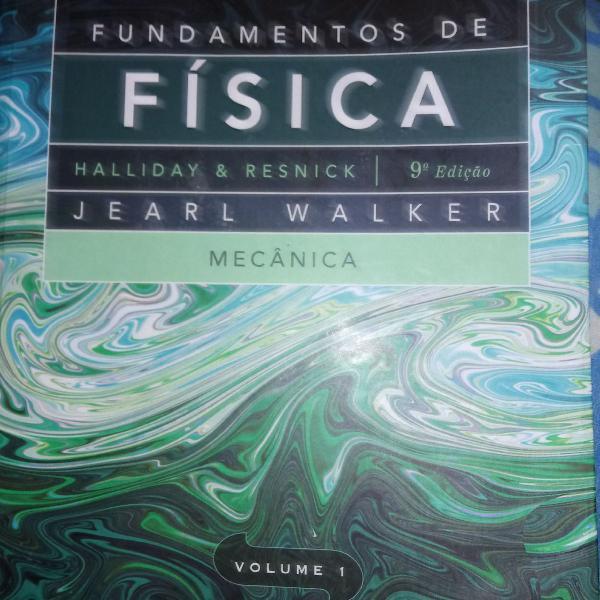 Livro fundamentos de física, volume 1, halliday &