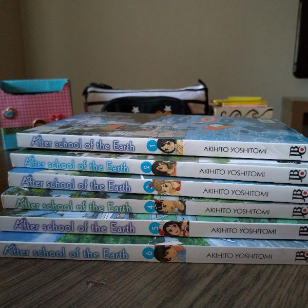 Mangás after school of the earth, vol. 1 e 2