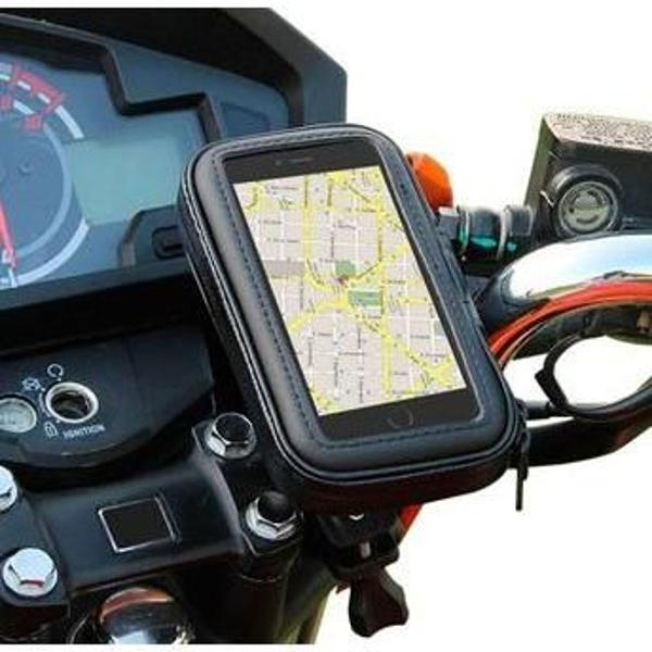 Suporte capa celular moto bike à prova d'água 6,3