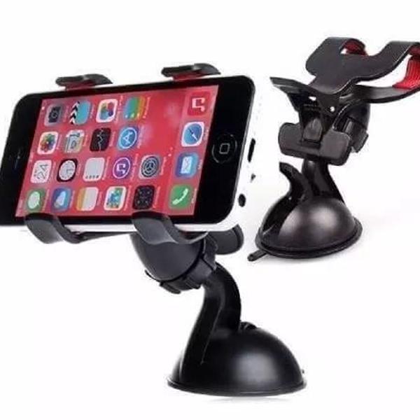 Suporte universal para smartphone/gps/iphone clipe duplo