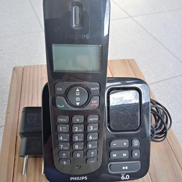 Telefone sem fio philips cd175