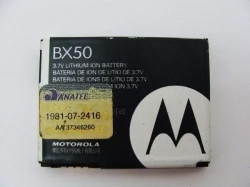 7x bateria original bx50 moto v9. z9. i9. zn5. atacado