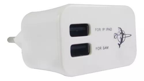 Adaptador universal tomada parede usb duplo carregador 3.1a