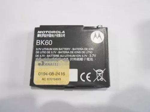 Bateria bk60 motorola nextel i425 i876w i877 anatel n29-30