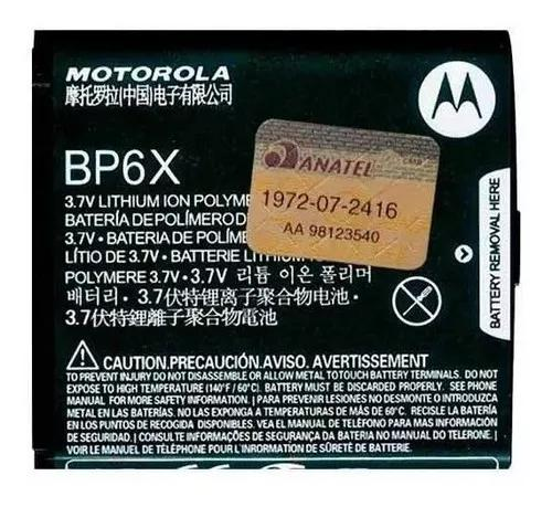 Bateria bp6x mb501 xt316 xt317 xt389 xt390 nextel il spice