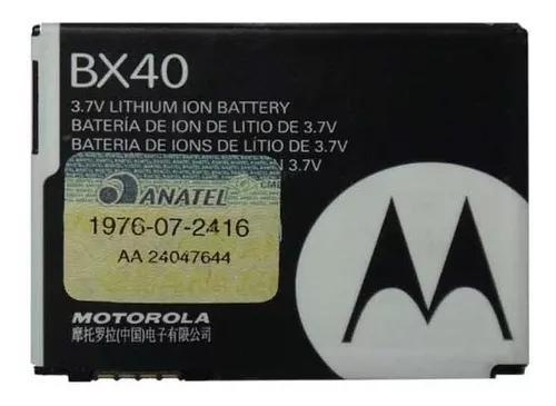 Bateria motorola bx40 v8 v9 v9m u9 zn5 i9 nextel frete