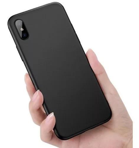 Capa capinha ultra fina fosca slim iphone x xs xr xs max