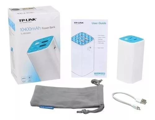 Carregador celular tp link 10400 tl-pb10400 garantia tplink