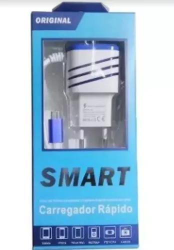 Carregador rapido smart 3.1a original 10 unidades atacado