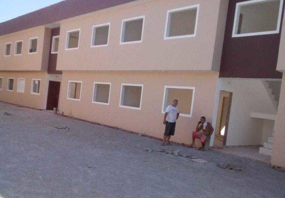 Casas novas próximo à praia