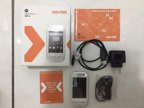 Celular motorola i867w nextel android /gps /wi-fi s