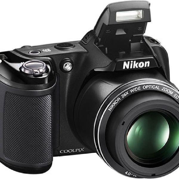 Câmera digital nikon coolpix l810 de 16,1 mp