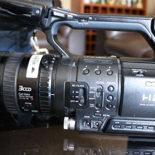 Câmera filmadora profissional hvr-z1