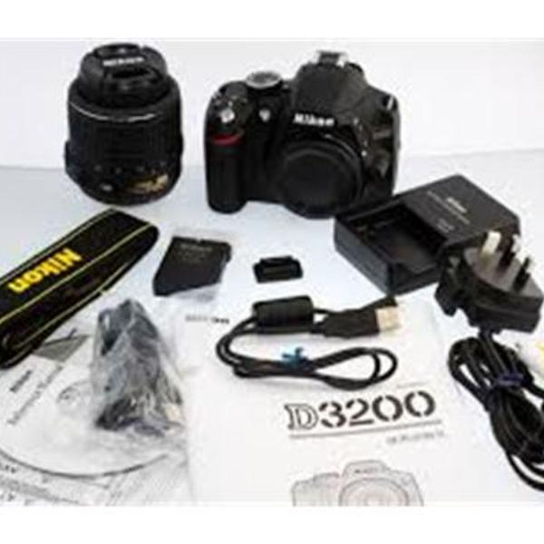 Câmera nikon d3200 kit 18-55mm + cartão 64gb +tripé