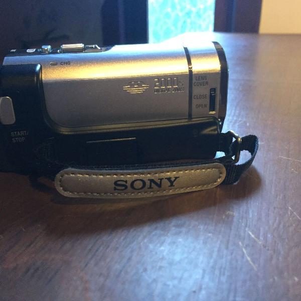 Câmera digital filmadora sony