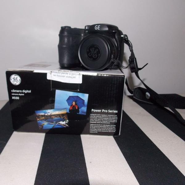 Câmera fotográfica pré profissional ge x550 nova
