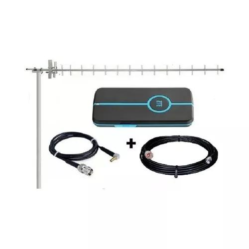 Kit completo internet rural antena + cabos + mod