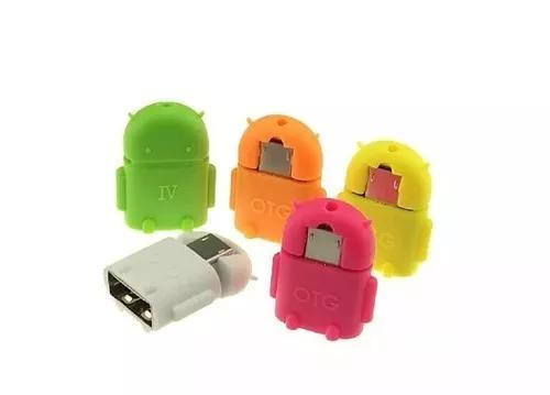 Micro usb otg para usb android robo - promocao 2un p/ compra