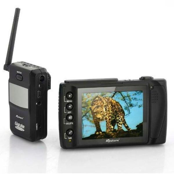 Monitor lcd e disparador remoto canon gigtube wireless ii