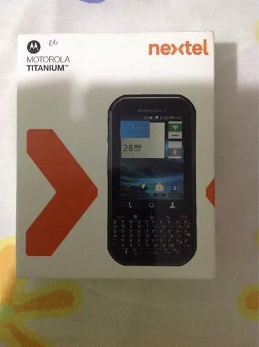 Motorola nextel titanium ptt