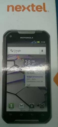 Motorola xt626 iron rock smartphone