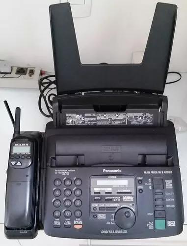 Máquina de fax com telefone s