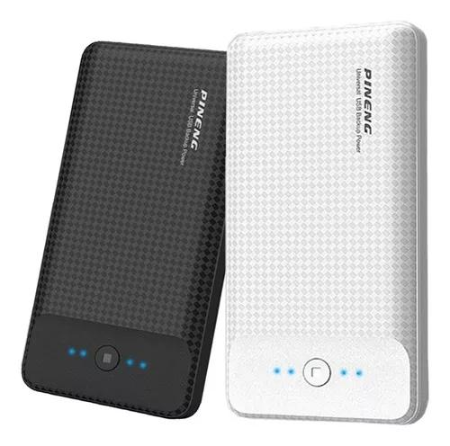 Power bank pineng slim bateria externa de 20000mah original