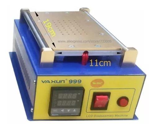 Separadora lcd touch sucção a vacum yaxun 999 220v