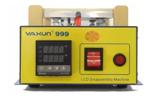 Separadora tela celular lcd com vácuo yaxun 999 original