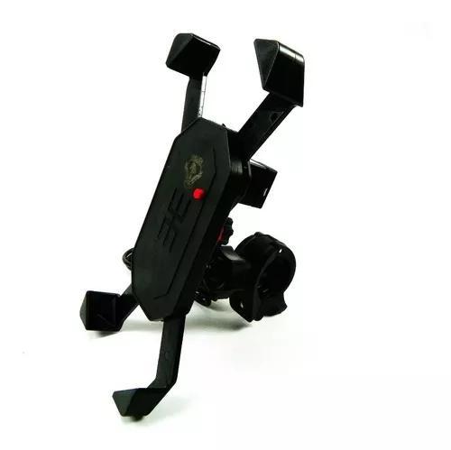 Suporte com carregador usb para celular gps moto universal