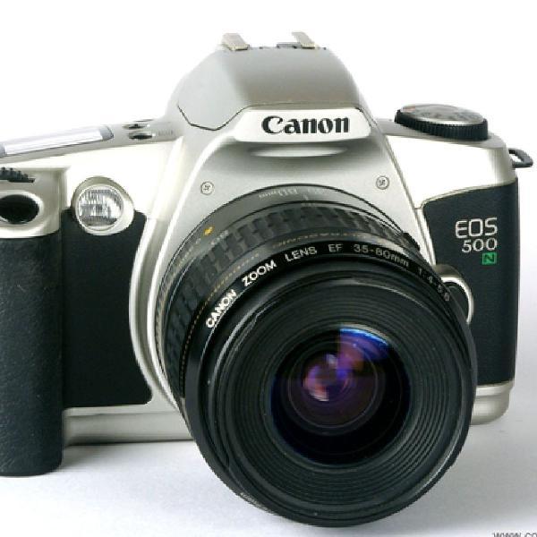 Camera analógica canon