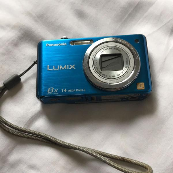 Camera digital panasonic lumix azul