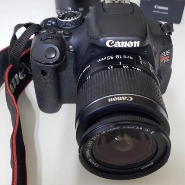Camera digital profissional canon t3i eos rebel
