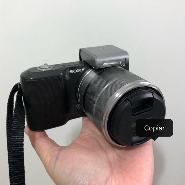 Camera sony alpha nex-3k