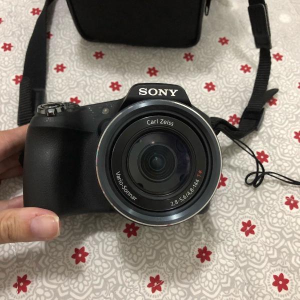 Camera sony semiprofissional cybershot hx100v