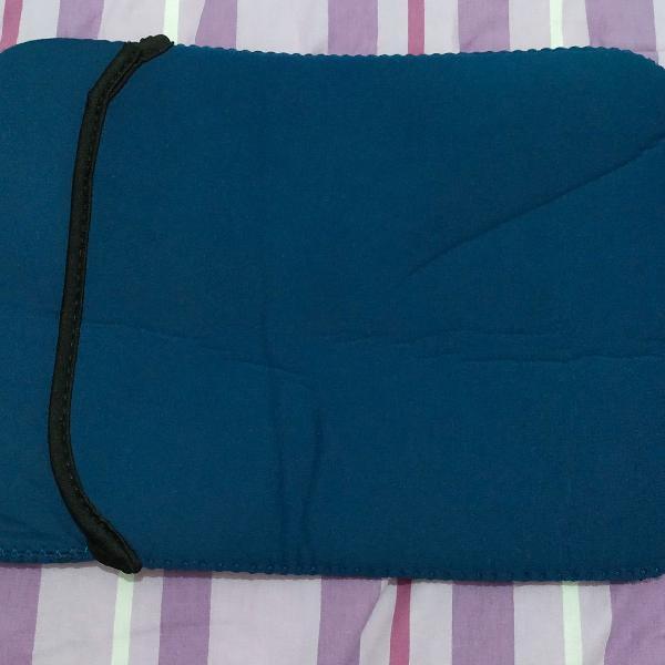 Capa protetora ipad , 2 cores, azul e preto, pode usar