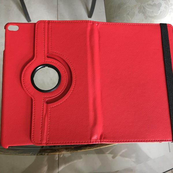 Capa protetora vermelha para ipad mini