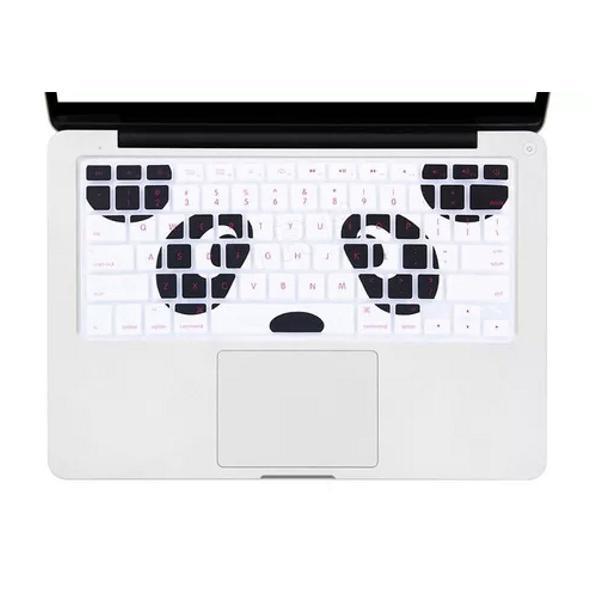 Capa teclado silicone macbook pro air panda promoção