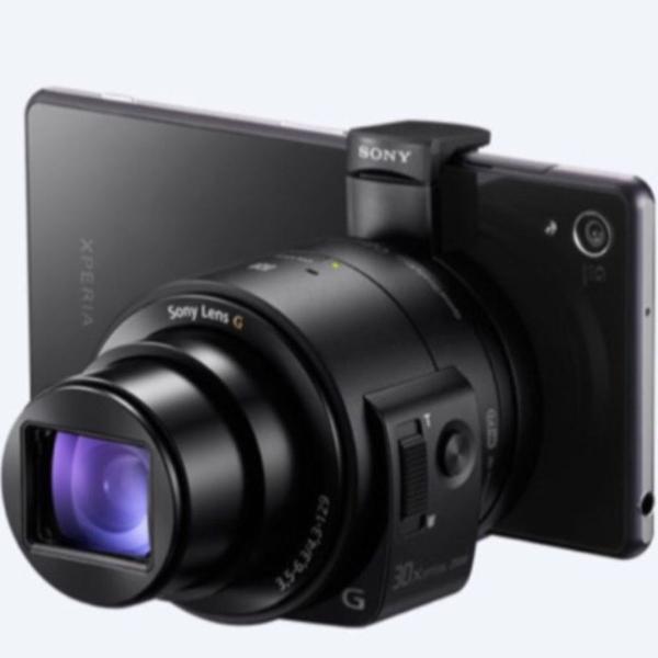 Câmara lens-style dsc-qx30 com zoom ótico de 30x
